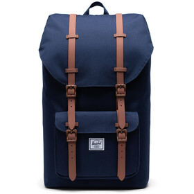 Herschel Little America Mochila, peacoat/saddle brown